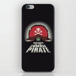 Dawn of the Zombie Pirate iPhone Skin