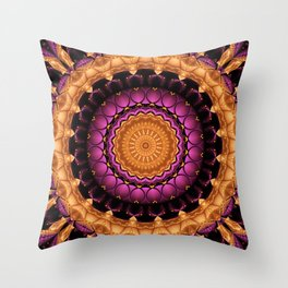 Mandala Self-esteem Throw Pillow