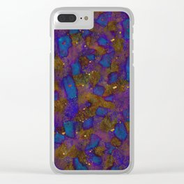 No. 72 (Symphony in Blue) Clear iPhone Case