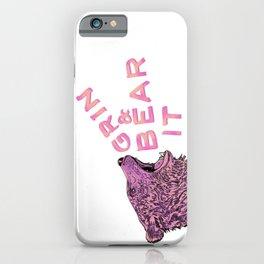 Grin & Bear It iPhone Case