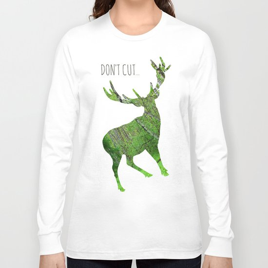 Save the animals - Deer Long Sleeve T-shirt