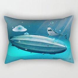 Weird Waters Rectangular Pillow