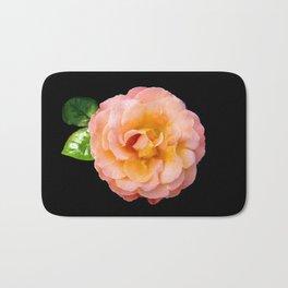 Orange ,Rosa Rose Bath Mat