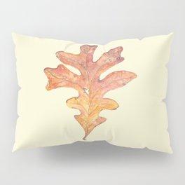 Tall Oak Leaf Pillow Sham