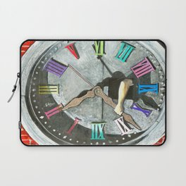 If I could turn back time...I wouldn't. Laptop Sleeve