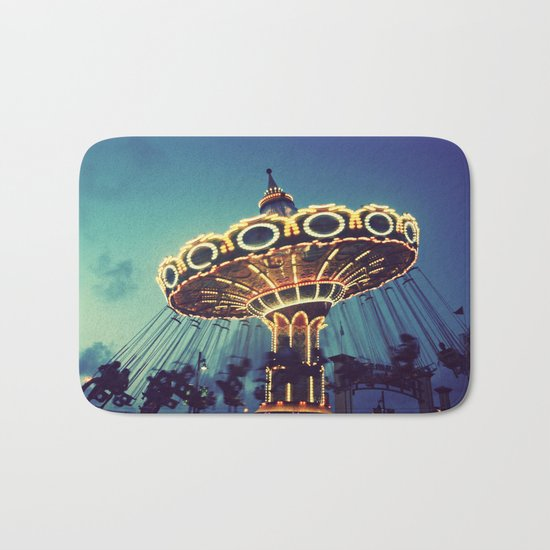 Blue Hour at the Carnival Bath Mat
