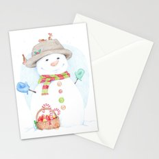 Hello, Mr. Snow Stationery Cards
