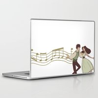 grantaire Laptop & iPad Skins featuring Dance With Me by invisibleinnocence