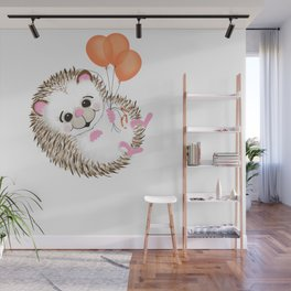 Porcupine Wall Mural