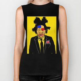 Jean Michelle Basquiat Biker Tank