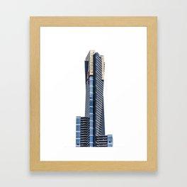 Eureka Tower Framed Art Print