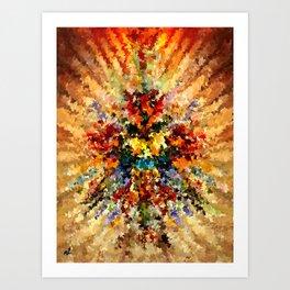 modern composition 10 by rafi talby Art Print