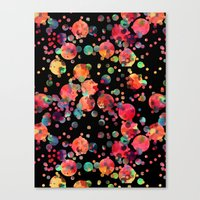 confetti Canvas Prints featuring Confetti by Schatzi Brown
