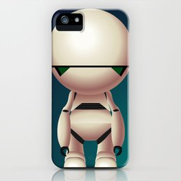 Marvin the Paranoid Android iPhone Case