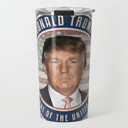 Vote Donald Trump President Travel Mug