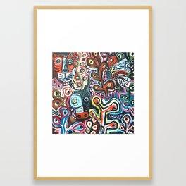 Jungle Dusk Framed Art Print