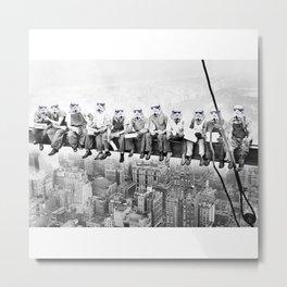 Star war| new york workers Metal Print