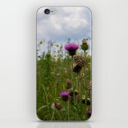 Sprouting Flowers iPhone Skin