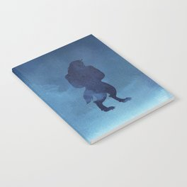 Beast Silhouette - Beauty and the Beast Notebook