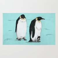 penguins Area & Throw Rugs featuring Penguins by 1 of 20