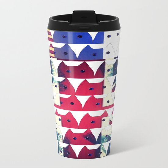 cat-291 Metal Travel Mug