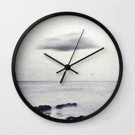 Silk Horizons Wall Clock
