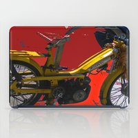 rebel iPad Cases featuring REBEL by Davey Charles