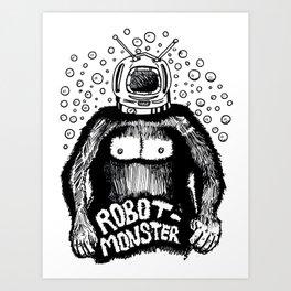 Robot-Monster Art Print