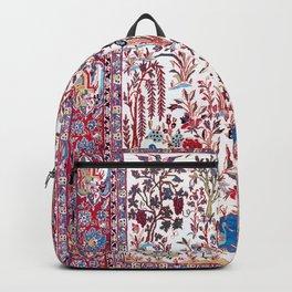 Esfahan Central Persian Silk Rug Print Backpack