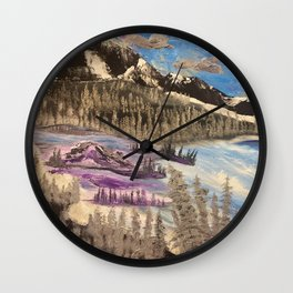 The valley below Wall Clock