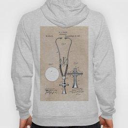 patent art Pratt 1887 Stethoscope Hoody