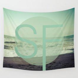 OCEAN BEACH Wall Tapestry