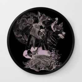 All changes with the moon Wall Clock
