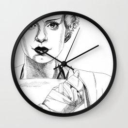 The Bride #2 Wall Clock
