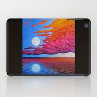 sia iPad Cases featuring reflection of the moon on the sea by giol's