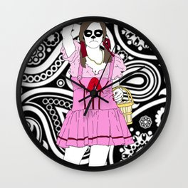 Dorothy Stands Up Wall Clock