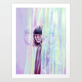 Reflections to Crumble. Art Print