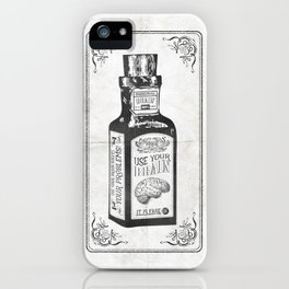 Use your Brain. It's free! iPhone Case