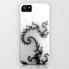 detail on mandelbrot set - pseudopod iPhone Case