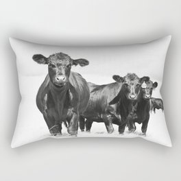 Cattle Country Photograph Rectangular Pillow