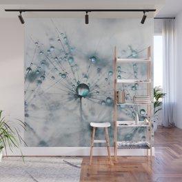 dandelion blue Wall Mural