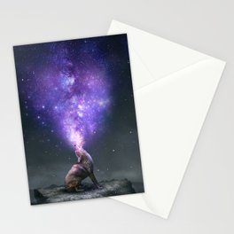 All Things Share the Same Breath Stationery Cards