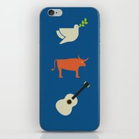 pablo picasso iPhone & iPod Skins featuring Iconic Painters: Pablo Picasso by re:design