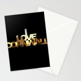 Love Cornwall Stationery Cards