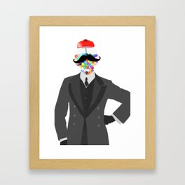 The Candy Dandy Framed Art Print