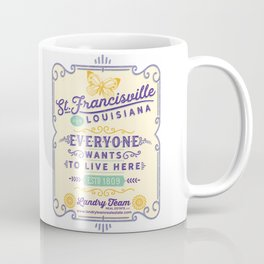 Landry Team Stamp Logo Coffee Mug