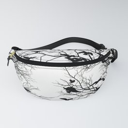 Crow flock Fanny Pack