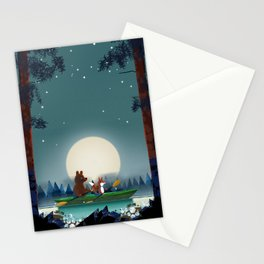 Bear and Fox Stationery Cards