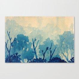 Memory Landscape 10 Canvas Print