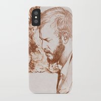 bon iver iPhone & iPod Cases featuring Bon Iver (Justin Vernon) by ChrisGreavesCreative
